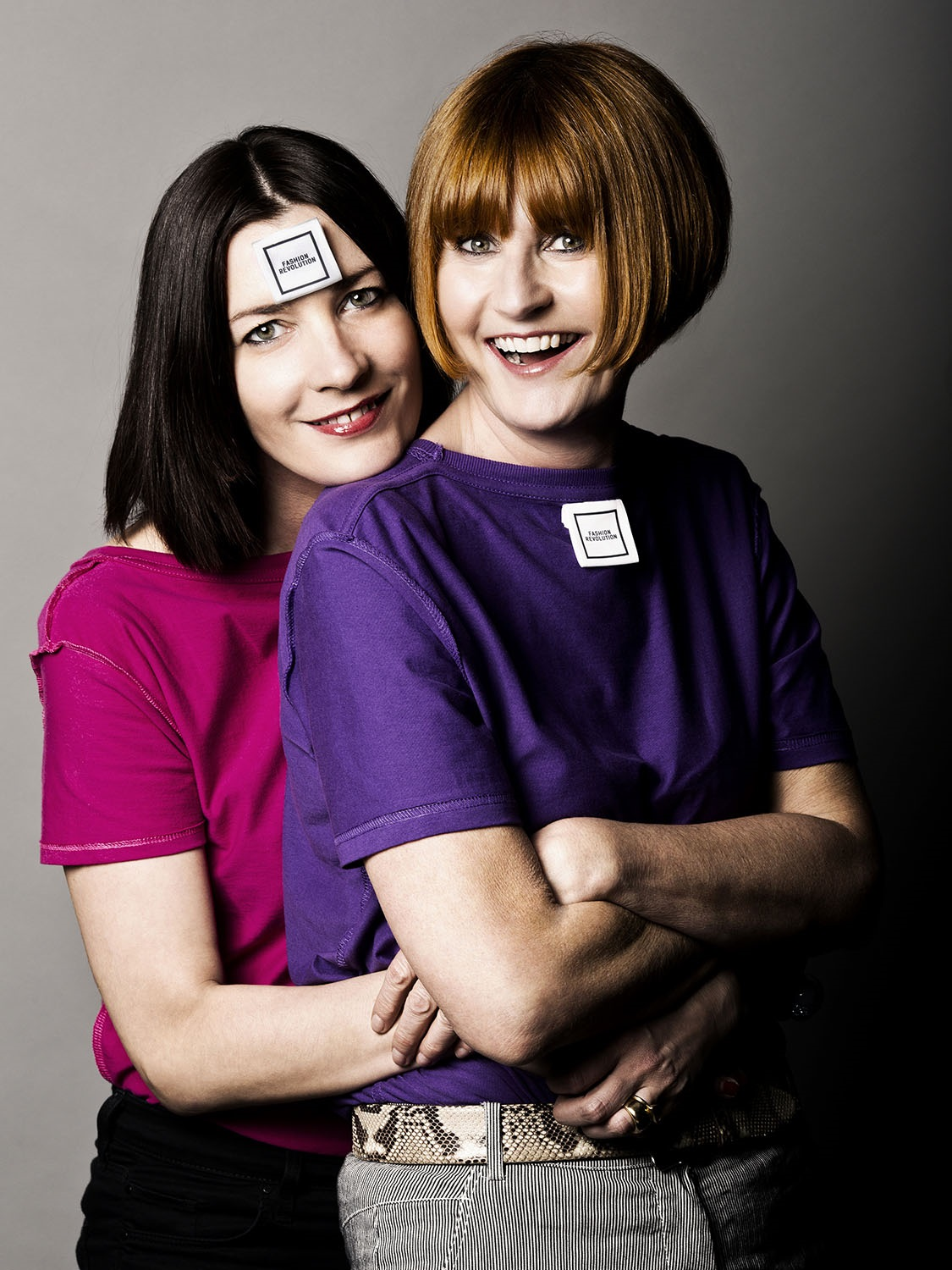 Mary Portas, celebrity makeup artist, Lauren Kay